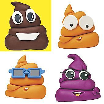 Play-Doh Poop Troop met 12 Accessoires en 12 Portjes Klei