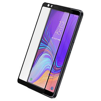 Screen protector for Samsung Galaxy A7 2018, Tempered Glass with black edges