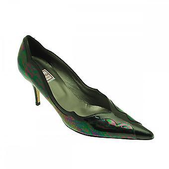 Renata Women's Low Heel Classic Court Shoe