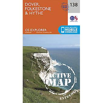 Dover Folkstone and Hythe by Ordnance Survey