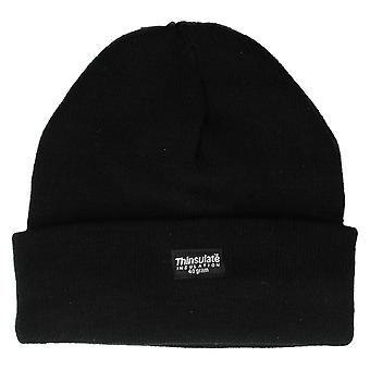 Mens Knitted Hat With Thinsulate Lining GL219