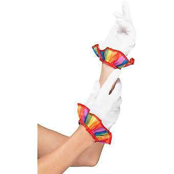 Carnaval adultos unisex Clownhandschuhe