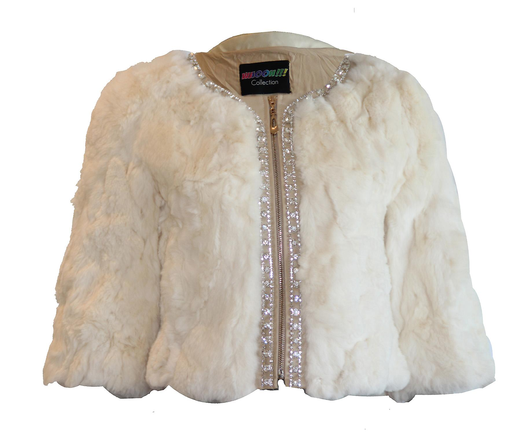 Waooh - Fashion - jacket rabbit fur Rex