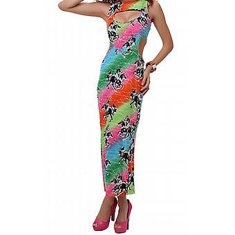 Waooh - mode - kant lange jurk patronen paarden