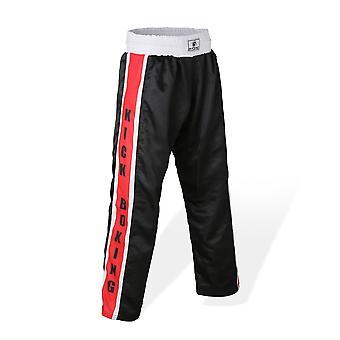 Bytomic Mesh Kickboxing Pants Black/Red