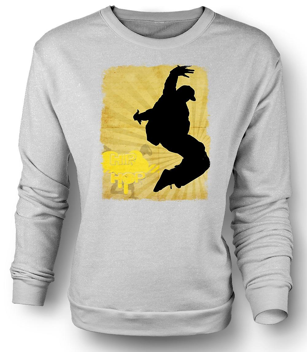 Mens Sweatshirt Hip Hop - Break Dance
