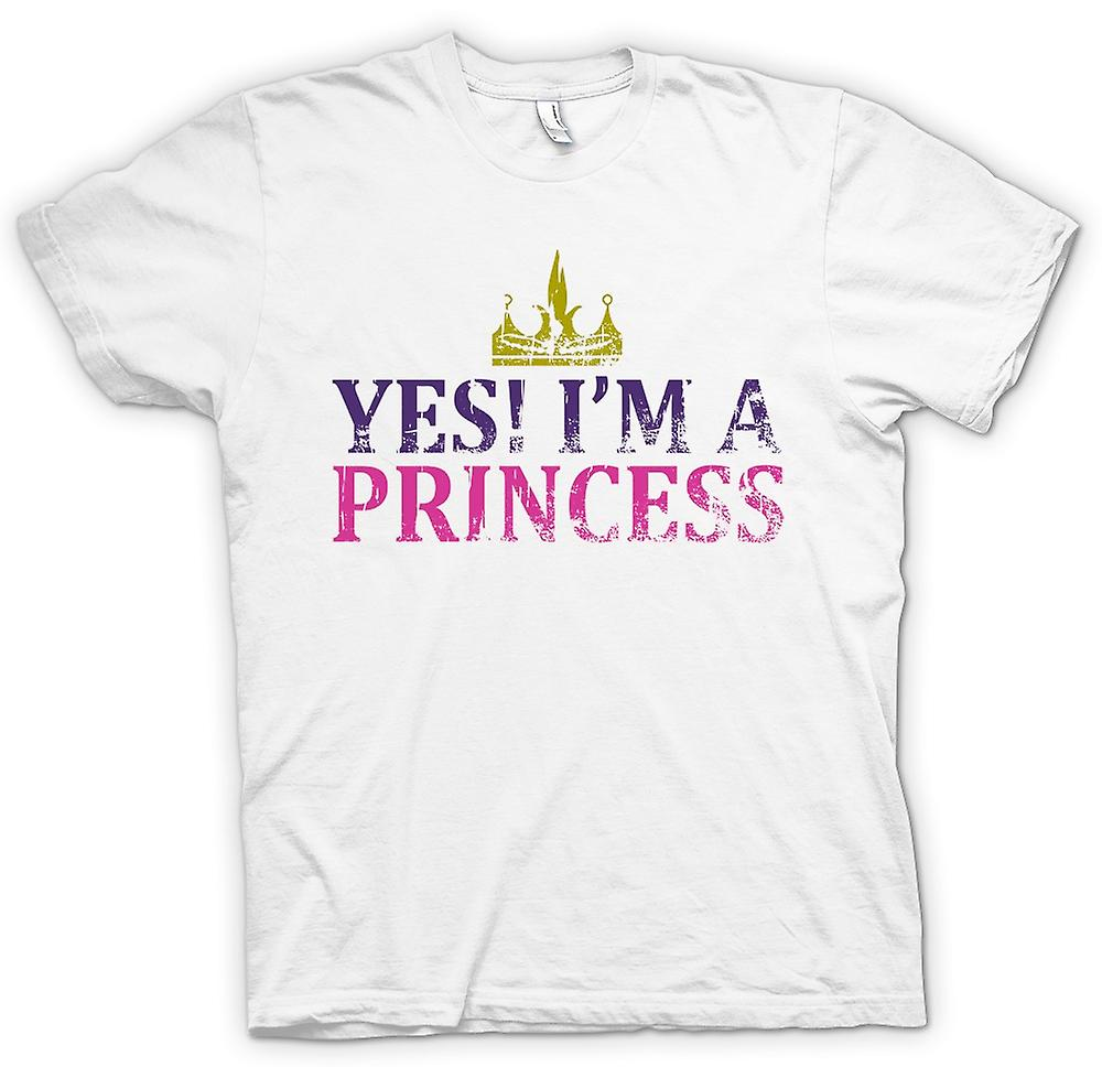 Womens T-shirt - ja Im A Princess - lustig