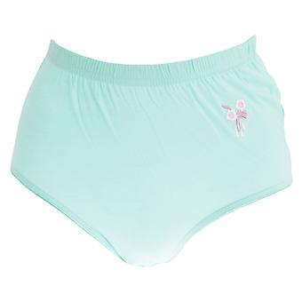 Passionelle Womens/Ladies Pastel Embroidered Cotton Briefs (Pack Of 3)