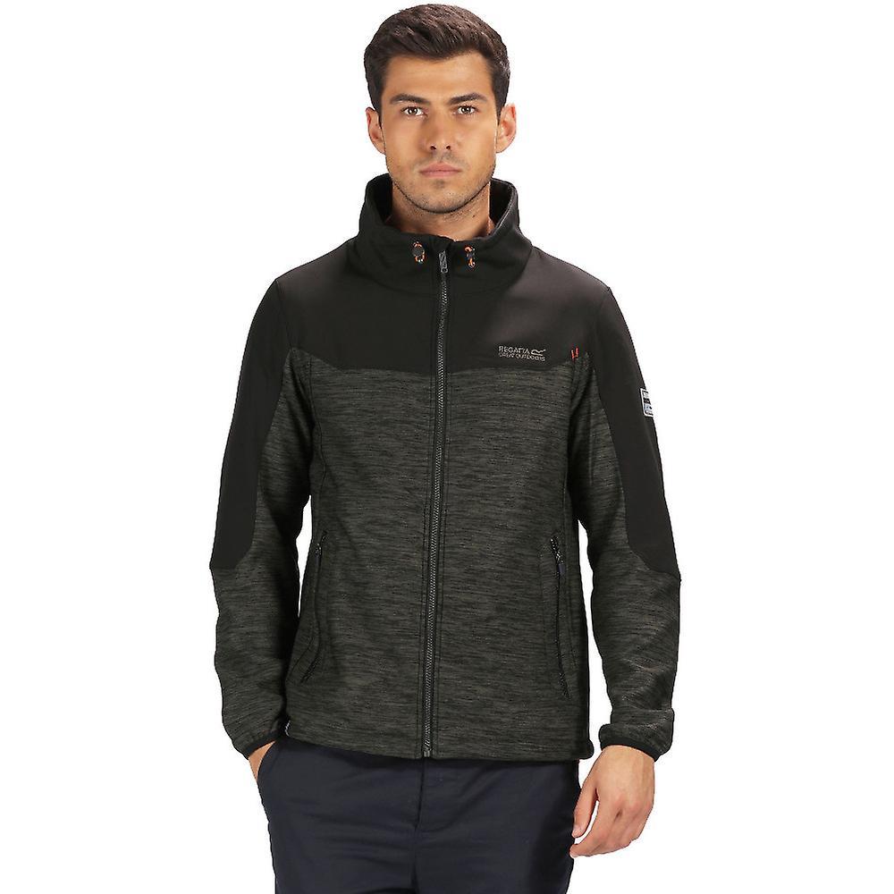 Regatta Pour des hommes Sender Warm Woven Softshell Zip Up veste