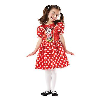 Red dress Minnie mouse costume for kids Disney Minni