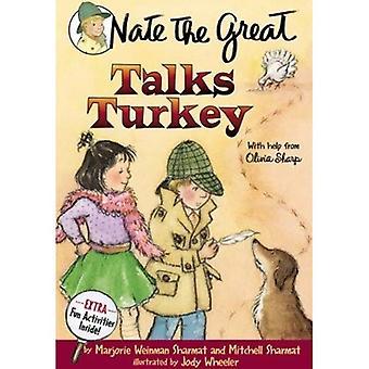 Nate el grande habla de Turquía con la ayuda de Olivia Sharp (Nate las grandes historias de detectives (Prebound))