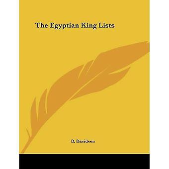Egyptian King Lists