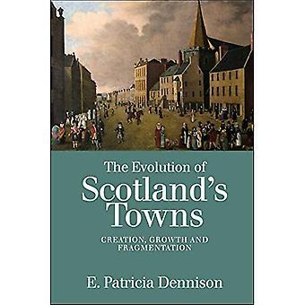 Udviklingen af Skotlands byer: etablering, vækst og opsplitning