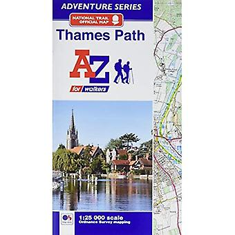 Thames Path Adventure Atlas (Paperback)