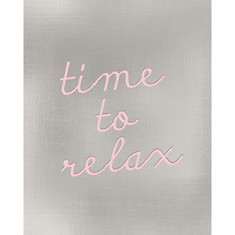 Time To Relax Poster Print by Allen Kimberly