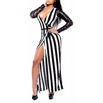 Waooh - lange jurk met kanten mouwen Inus