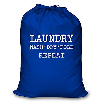 Blue Laundry Wash Dry Fold Repeat