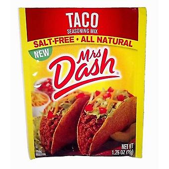 Fru Dash Salt-fri Taco krydderi Mix pakke 3 Pack