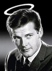 The Saint (Roger Moore) steel fridge magnet (1)