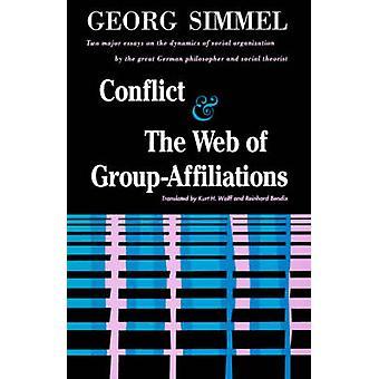 Konflikter och nätet av gruppen tillhörighet av Simmel & Georg