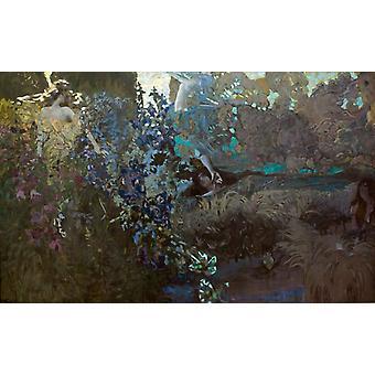 Morning, Mikhail Vrubel, 60x38cm