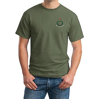 Army Medical Corps RAMC Embroidered Logo - Official British Army Cotton T Shirt