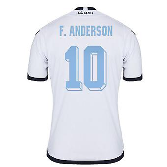 2015-2016 Lazio authentiek derde Shirt (F.Anderson 10) - Kids