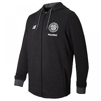 2017-2018 Celtic podróży szkolenia z kapturem (Black)