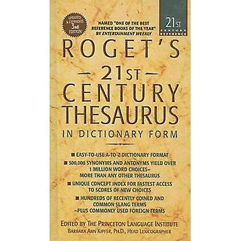 Roget's 21st Century Thesaurus by Barbara Ann Kipfer - 9780756958596