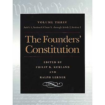 The Founders' Constitution - v. 3 - Article 1 - Section 8 - Clause 5 -