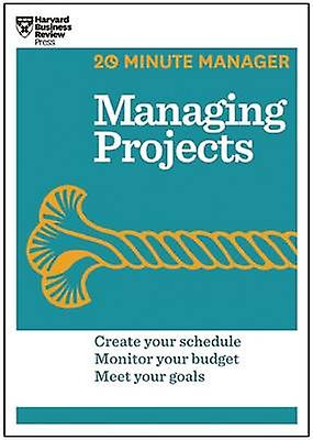 Managing Projects by Harvard Business Review - 9781625270832 Book