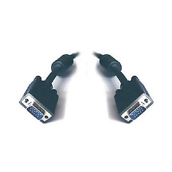 VGA Monitor Cable HD15M-HD15M with Filter UL Approved