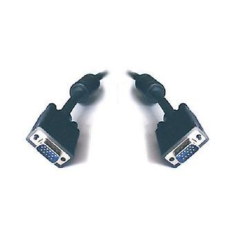 Cavo monitor VGA HD15M-HD15M con filtro approvato UL