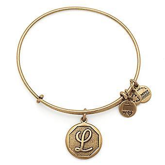 Alex et Ani initiale L or bracelet A13EB14LG
