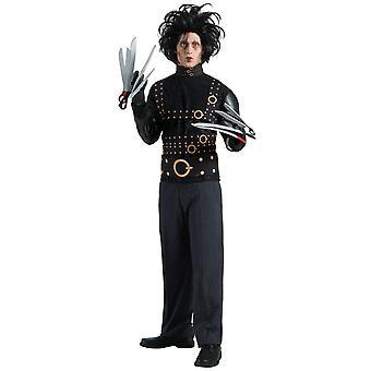 Edward Scisorhands TV-film licenseret Halloween voksen Herre kostume & paryk STD