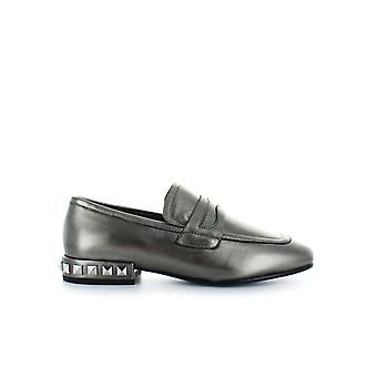 ASH GUNMETAL ESCAPE MOCCASIN