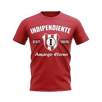Independiente etabliert Fußball T-Shirt (rot)