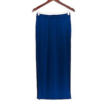 G.I.L.I. got it love it Skirt Matte Jersey Pull-On Maxi Skirt Blue A266066