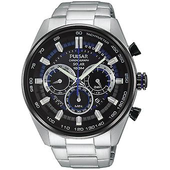 Pulsar active Quartz Analog Man Watch with PX5019X1 Stainless Steel Bracelet