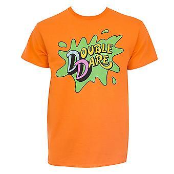 Nickelodeon Double Dare Orange Tee Shirt