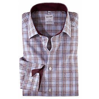 Olymp Check Formal Shirt