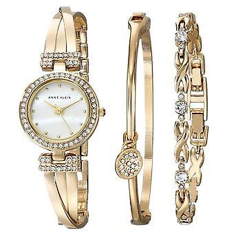Bracelet doré Anne Klein et Ladies Watch AK-1868GBST