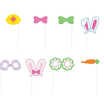 SALE - 10 Small Photo Booth Props for Easter Parties & Events