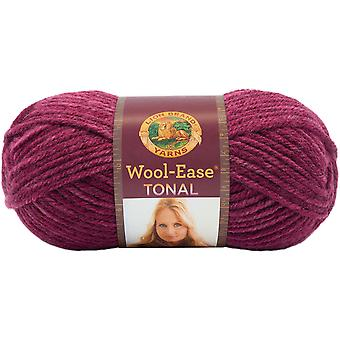 Wool-Ease Tonal Yarn-Raspberry 635-112