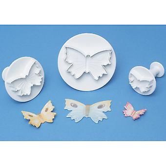 Plunger Cutter Set 3 Pieces Butterfly Bu910