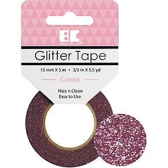 Best Creation Glitter Tape 15mmX5m-Canna GTS-009