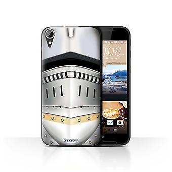 STUFF4 Case/Cover for HTC Desire 830/Renaissance Helmet/Knight Armour