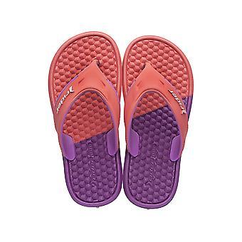 Rider Duo Kids Tongs / sandales - corail violet