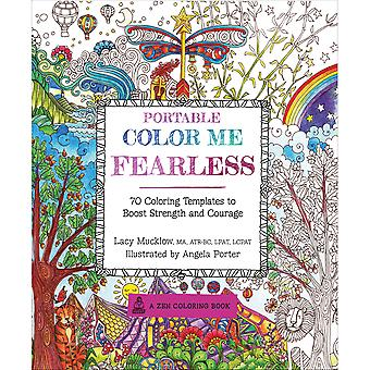 Race Point Publishing Books-Portable Color Me Fearless RPP-62674