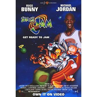 Space Jam Movie Poster (11 x 17)